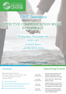 Seminar - International Wellbeing Center